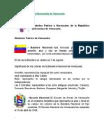 Símbolos Patrios y Nacionales de Venezuela