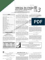 diário oficial da união (DOU) - 06.01.2011 - seção 3