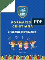 6° GRADO PRIMARIA FORMACION CRISTIANA
