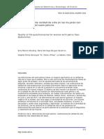 09Cuestionarios de calidad de vida en las mujeres con disfunciones del suelo pélvico