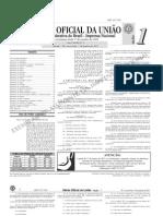 diário oficial da união (DOU) - 07.01.2011 - seção 1