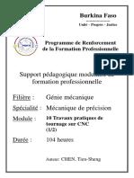 11. Mécanique de précision_travaux pratiques de tournage sur CNC (1)
