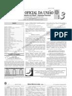 diário oficial da união (DOU) - 07.01.2011 - seção 3