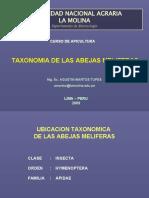 Taxonomía abeja melífera 2009