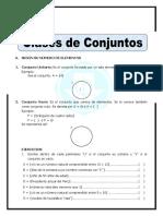 Clases de Conjuntos Para Quinto de Primaria