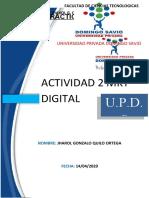 ACTIVIDAD 2 MKT DIGITAL