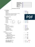 Cantilever Beam design - Angle