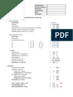Cantilever Beam design - RHS