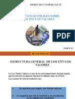ASPECTOS GENERALES DE LOS TÍTULOS VALORES