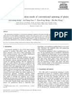 Study on the deformation mode of conventional spinning of plates (57)