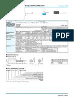 MINIATURE ALUMINUM ELECTROLYTIC CAPACITORS