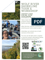 2020 Shoreline Tour and Workshop