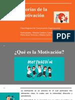 Clase Magistral - teorías de la motivación
