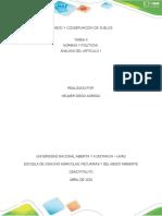 PASO 2- ARTICULO 1, CONSERVACION DE SUELOS