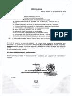 1.- MEMORANDUM MANUTENCIÓN 2019-II
