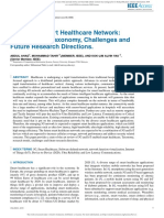 5G-based Smart Healthcare Network Architecture, Taxonomy, Challenges and Future Research Directions