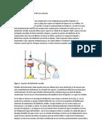 Destilación sencilla