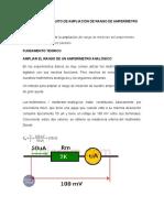 DISEÑO DE UN CIRCUITO DE AMPLIACIÓN DE RANGO DE AMPERÍMETRO