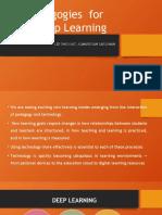 New Pedagogies  for