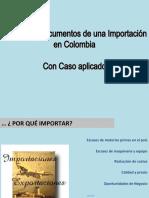 9 Tramites y Documentos - Importación en colombia Caso