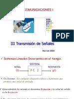 Com I Tema 3 Transmision de Se+¦ales  3 junio 2020