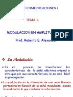 Com I Tema 4 Sistemas de Modulacion AM 3 junio 2020