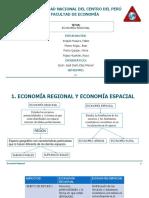 Economía Regional y Economía Espacial
