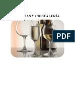 Bebidas y cristalería
