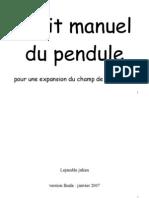 Petit Manuel Du Pendule