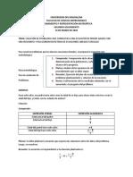 CLASE 16 MARZO 2020 SOLUCION DE PROBLEMAS QUE CONDUCEN A UNA ECUACION DE PRIMER GRADO CON UNA INCOGNITA
