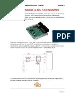 Funcionamiento del  Ecu y Sus Sensores