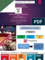 INSTITUCIONALIZACION DEL DALOGO Y LA CONCERTACION