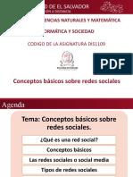 Conceptos básicos sobre redes sociales