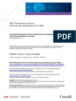 NRC Chemical Admixture