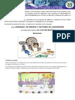 GUIA GRADO 8 FISICA FACTORES DE CONVERSION 11 MAY 2020