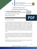 25. DPPME-006-03-2020-AJ, cierre de visitas en el CARC.pdf