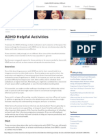 Helpful ADHD Activities _ AllPsych