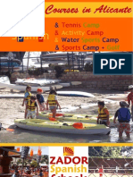 Summer Camps Children Spain 2011