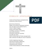 Symbolum apostolotum
