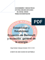 MF-PR estabilidad flotabilidad ecua de general de la energía bernoulli
