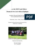 Protokoll Kosovo OSCE