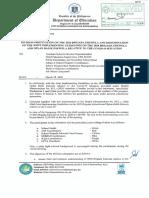 0891 - Division Memorandum No. 110, s. 2020
