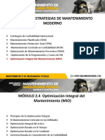2.3. Optimización Integral del Mantenimiento