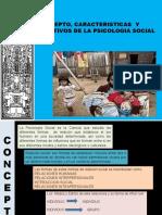 Conceptos y caracteristicas de la psicologia social