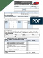 FICHA DE OBSERVACIÓN EN LA INSTITUCIÓN EDUCATIVA (Autoguardado)