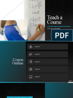 Corporate Teach a Course