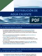 RED DE DISTRIBUCIÓN DE AGUA CALIENTE