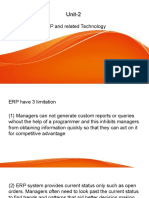 Unit-2 ERP related technologies