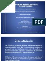 Diseño de Reactores (FINAL)