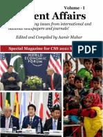 CSS 2021 CA Mag (Vol-I) by Aamir Mahar